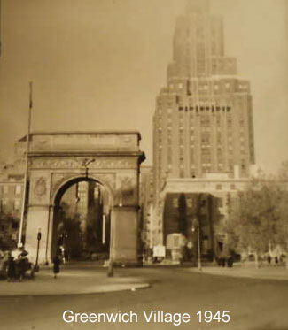 greenwich village forties 1940s nyc